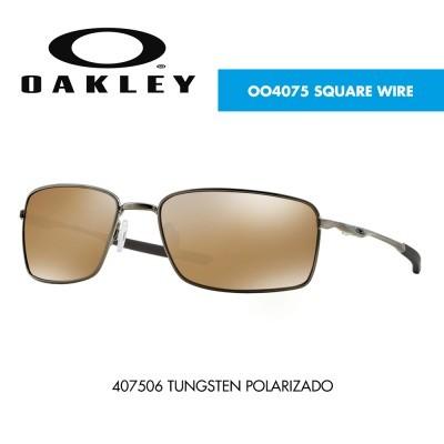 Óculos de sol Oakley OO4075 SQUARE WIRE