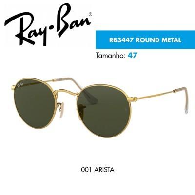 Óculos de sol Ray-Ban RB3447 ROUND METAL