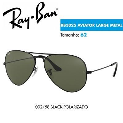 Óculos de sol Ray-Ban RB3025 AVIATOR