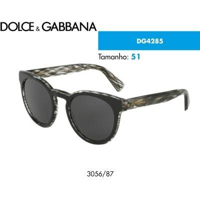 Óculos de sol Dolce & Gabbana DG4285  3056/87 Tam. 51