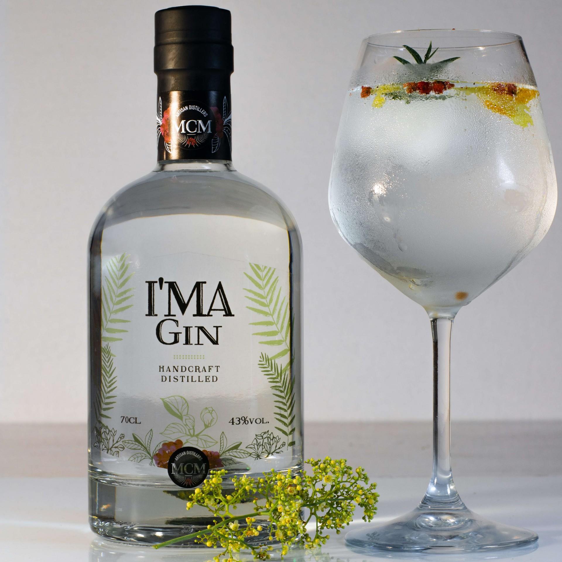 Gin artesanal I'MaGin