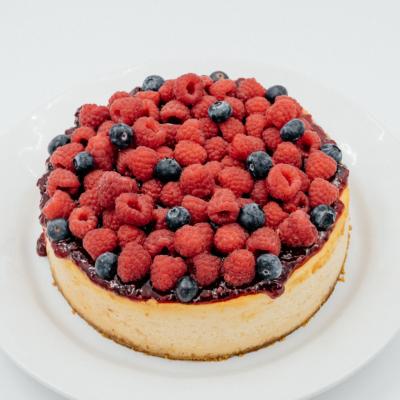 Cheesecake Clássico de Frutos Vermelhos