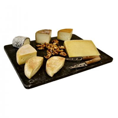 Tábua de 6 queijos seleccionados para o Casal Mistério