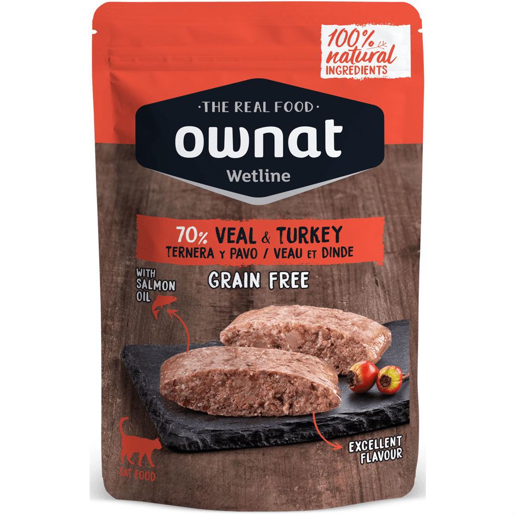 OWNAT CAT VEAL & TURKEY 85GR