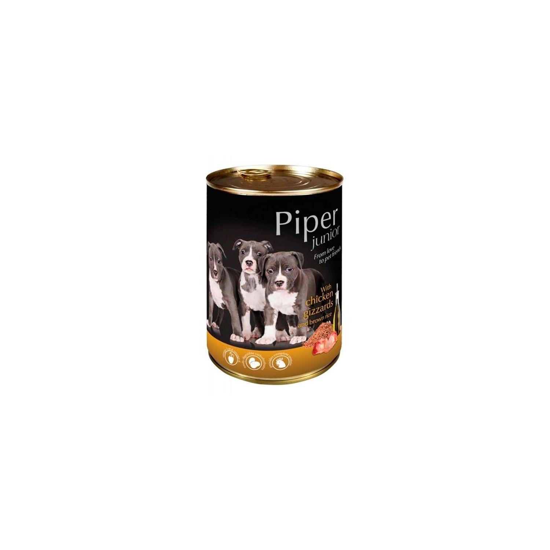 Piper Cão Junior - Frango e Arroz Integral 400gr