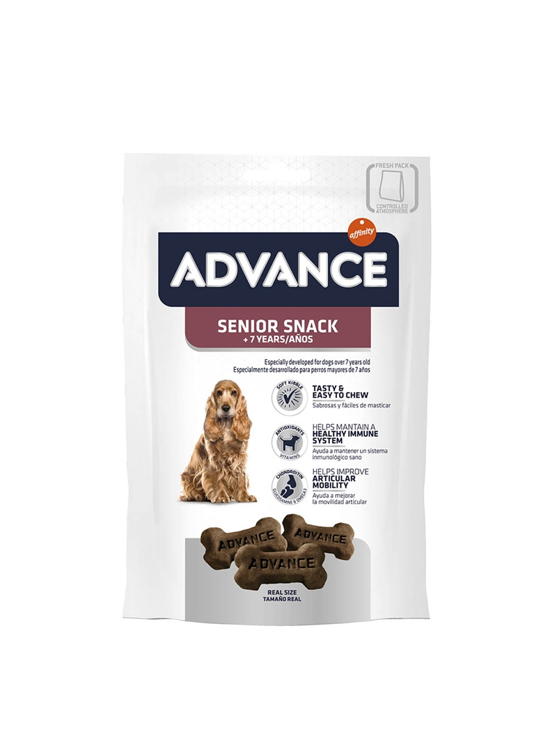 ADVANCE +7 ANOS SNACK 150GR