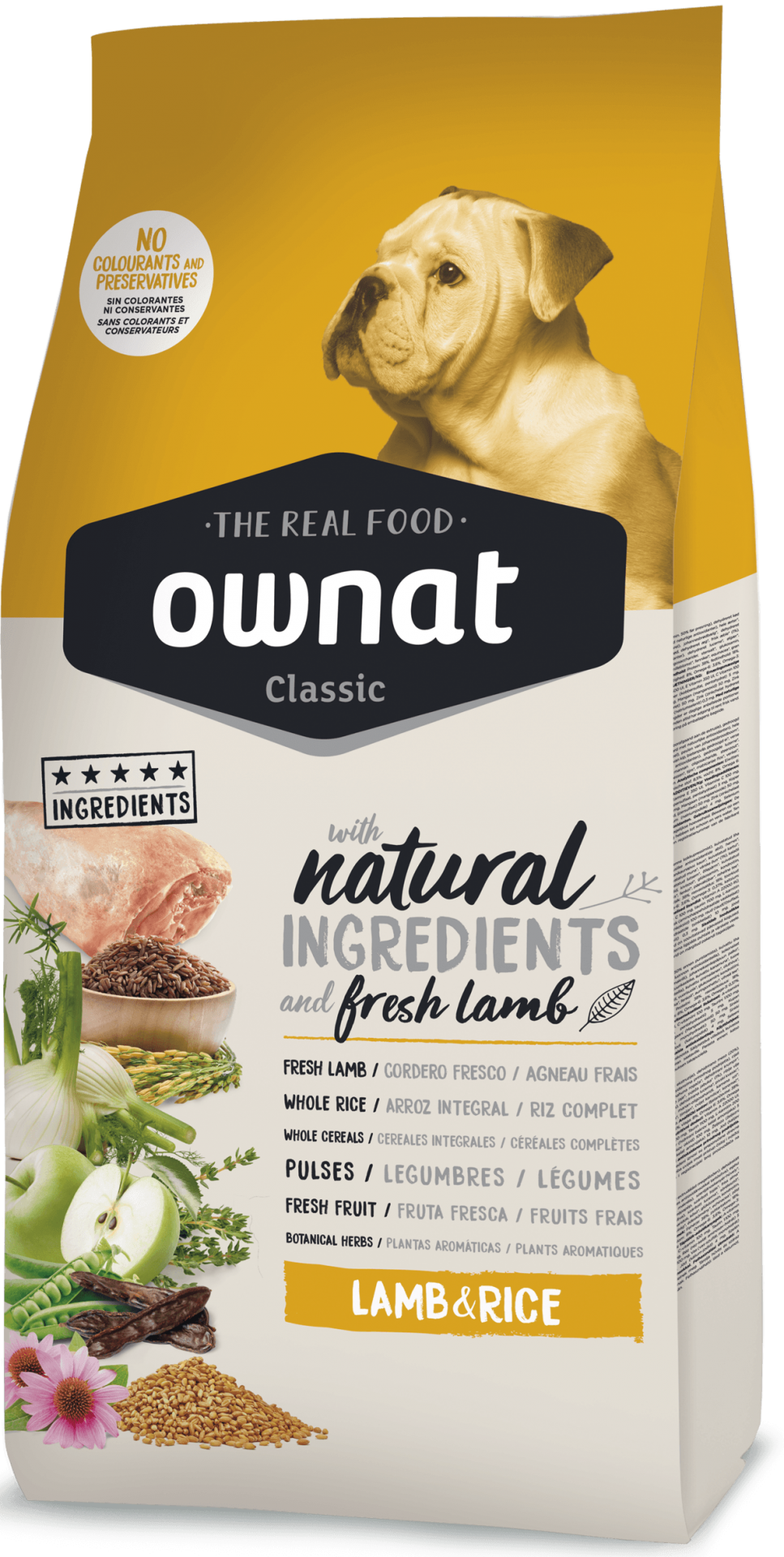 Ownat Classic Lamb & Rice