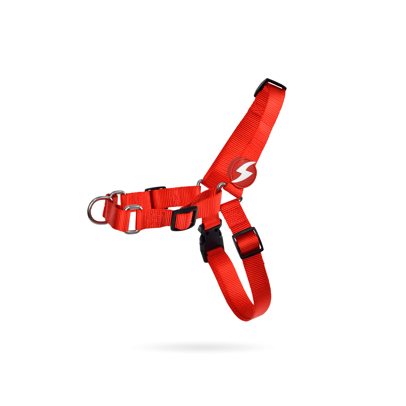 FRONT-HARNESS SOLID RED