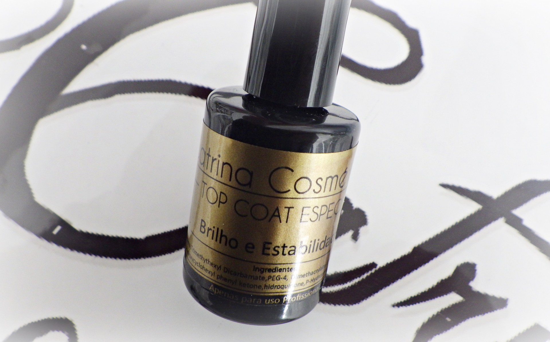 Top Coat Especial Catrina 15ml