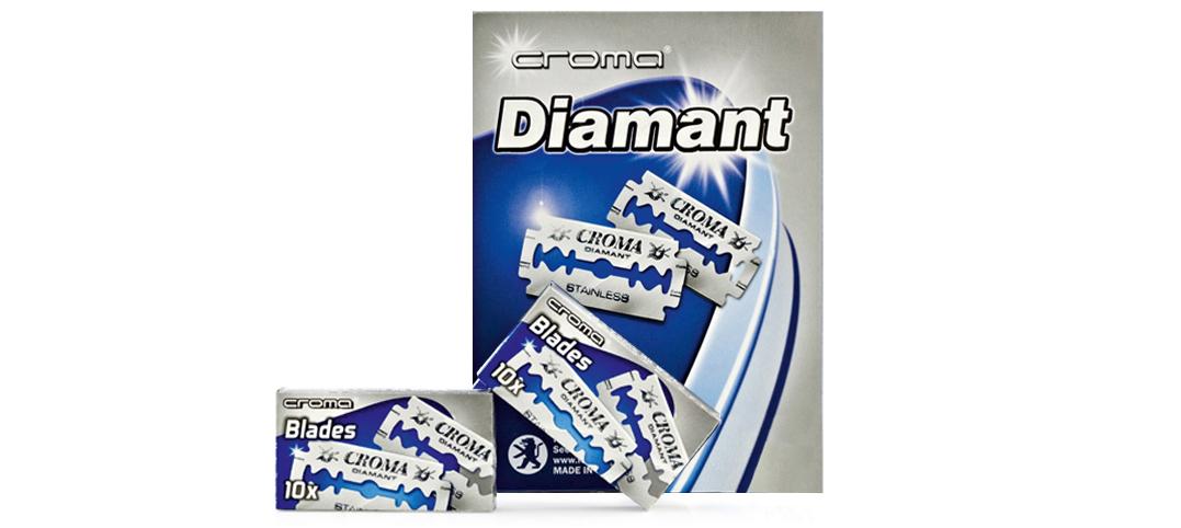 """Lâminas """"Croma Diamant"""""""