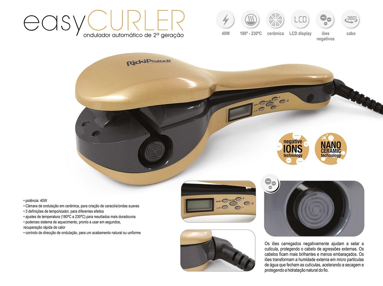 Ricki Parodi - Ondulador Automático Easy Curler