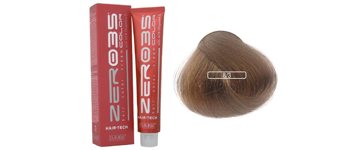Emmebi - TINTA HAIR-TECH 100 ML 8/3