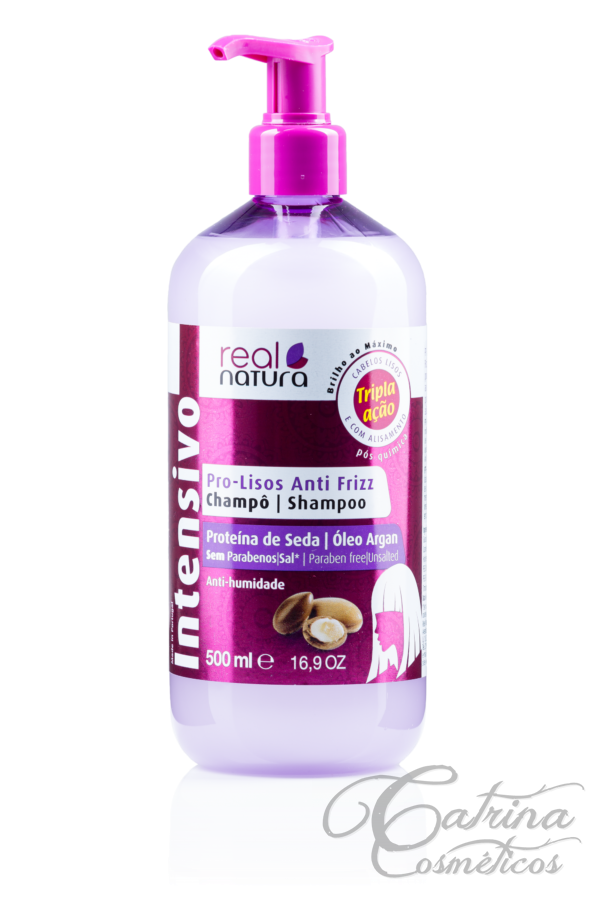 Real Natura - Shampoo Pro-Lisos Anti Frizz