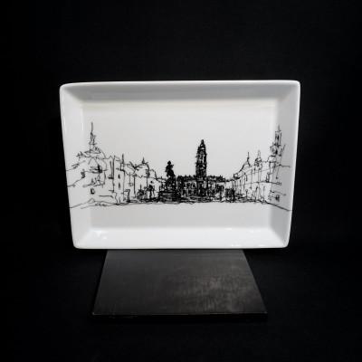 Porto Collection, Av. dos Aliados - Tabuleiro rectangular