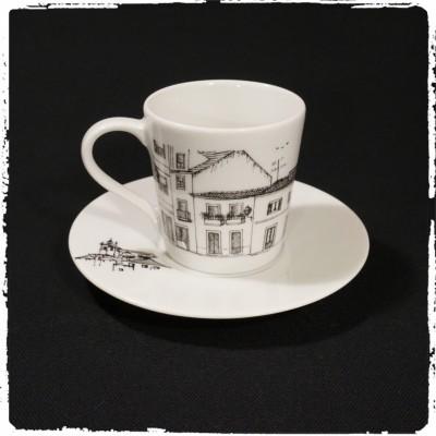 Rua dos Celeiros de Santa Maria, Torres Vedras - Chávena de café