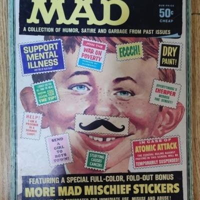 Lote Gigante Mad Comics Magazine