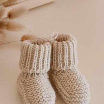 Carapins Lã Cinza