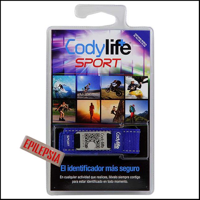 Pulseira Codylife Sport - Epilepsia