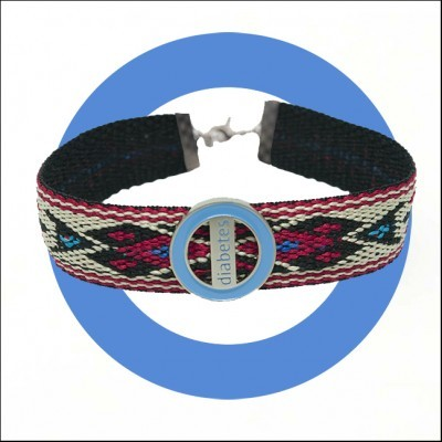 Pulseira Codylife Ethnic - Diabetes Logo