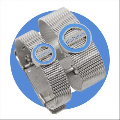 Pulseira Codylife Mesh - Diabetes
