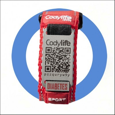 Pulseira Codylife Sport - Diabetes