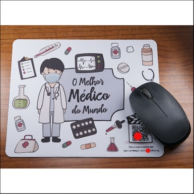 Tapete de rato - Médico