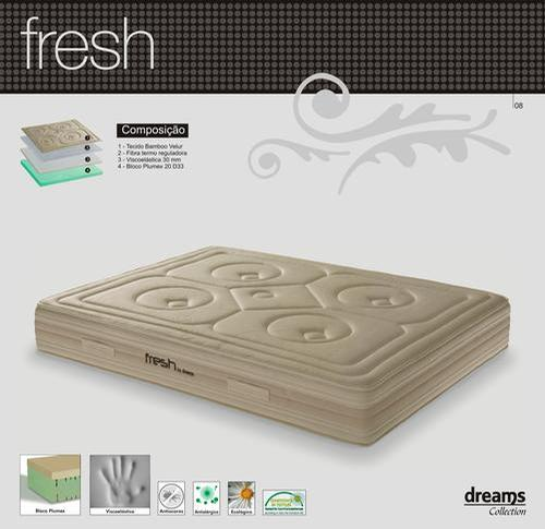 COLCHÃO FRESH DREAMS 200 X 160