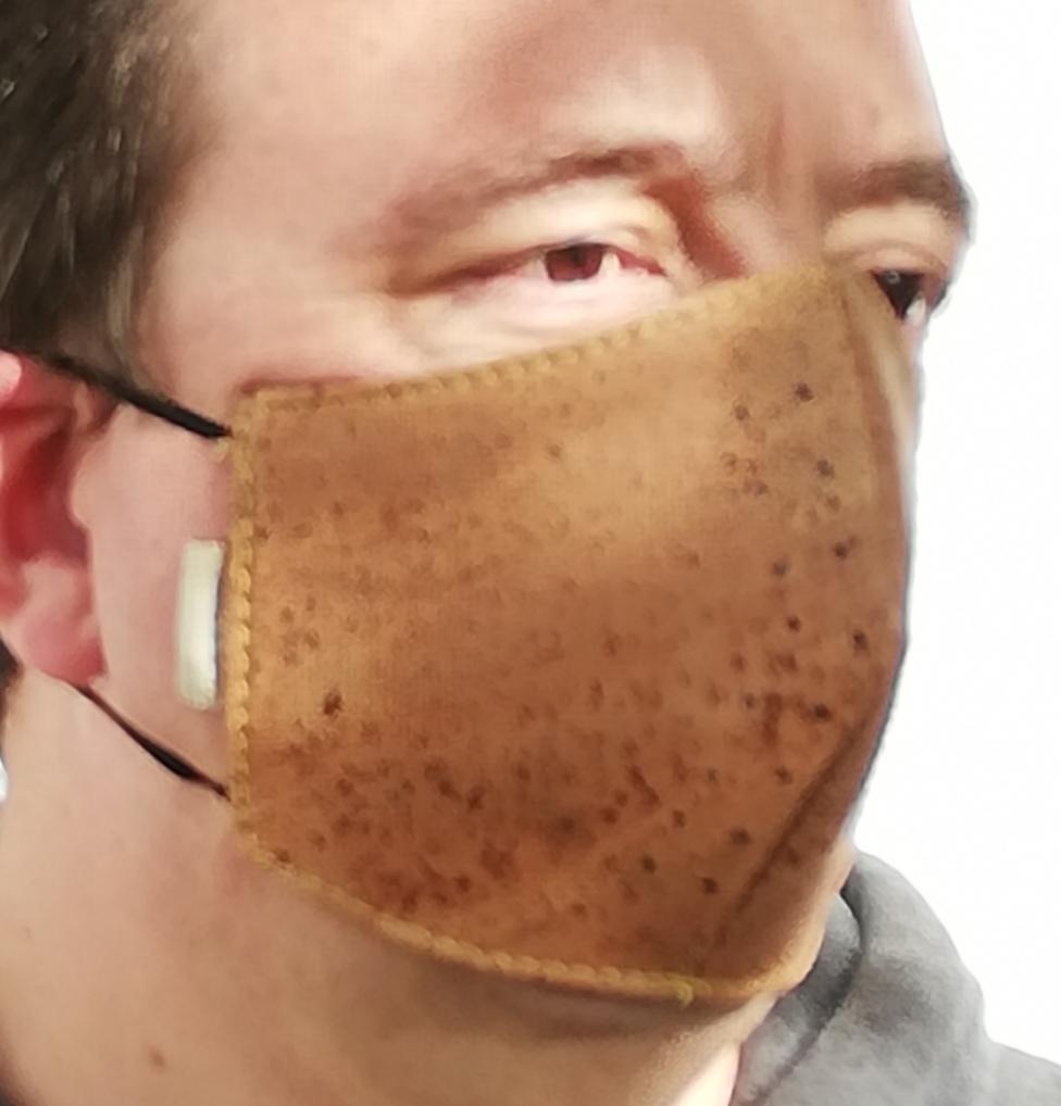 Máscara de cortiça