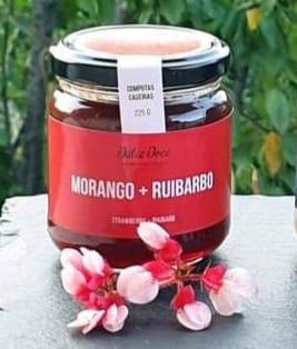 Morango + ruibarbo