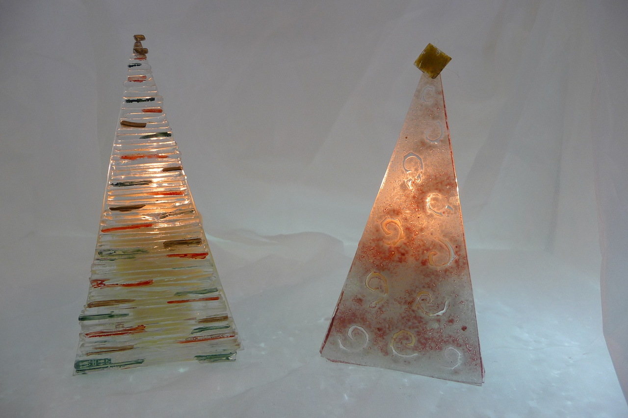 Brilhantes Árvores de Natal