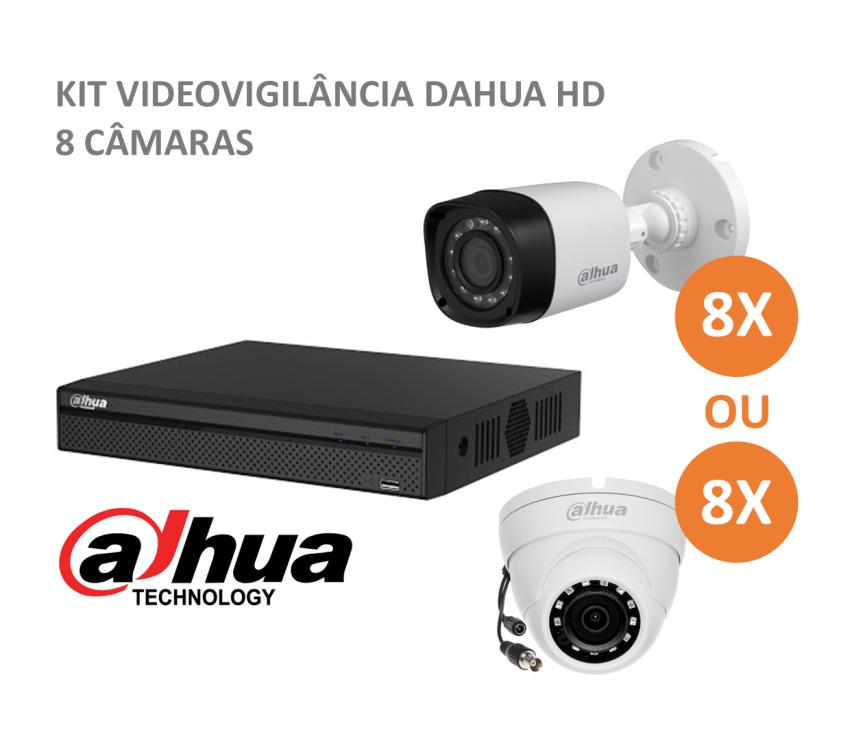 DAHUA Kit CCTV 8 cameras