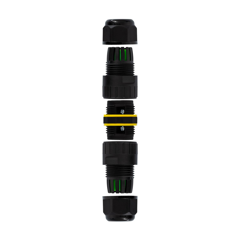 Conetor 3 contatos 0.5-4mm² IP68