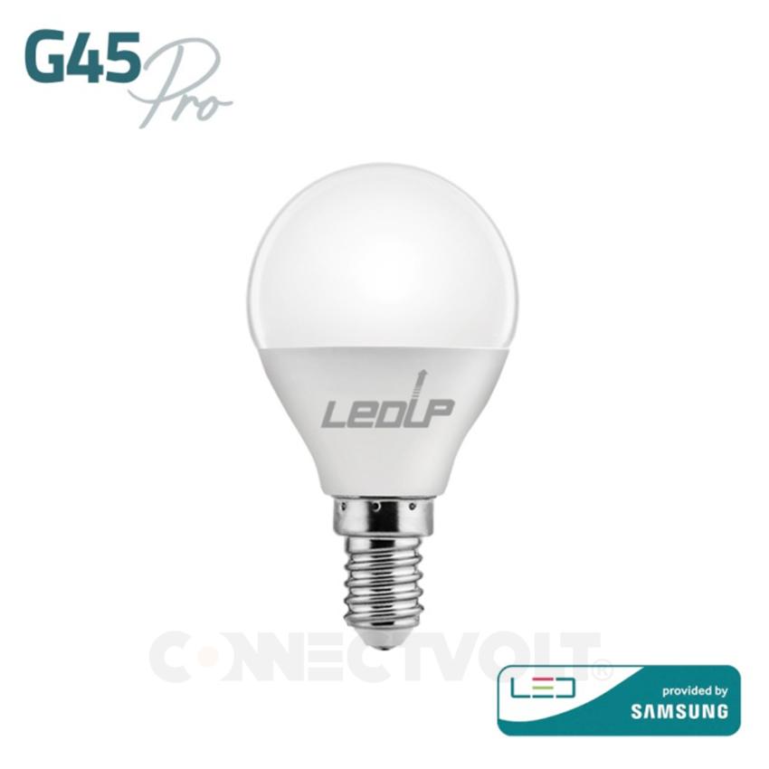 LED lâmpada E14 G45 PRO 5W