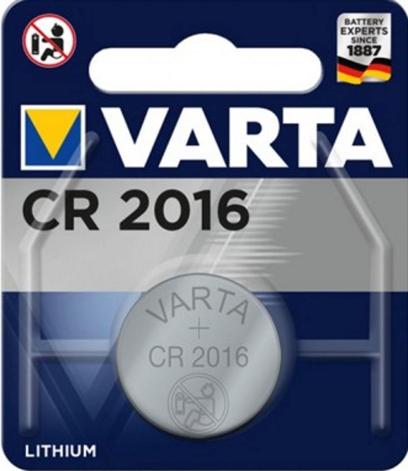VARTA Electronics CR2016 3V Lithium