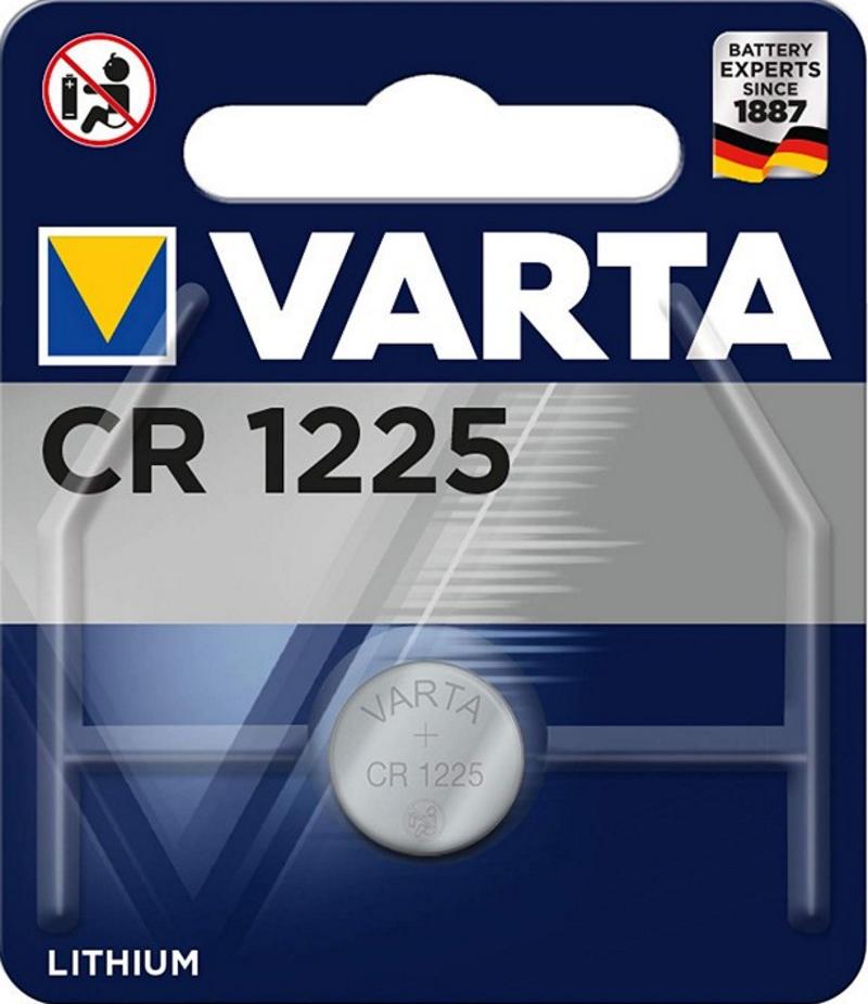 VARTA Electronics CR1225 3V Lithium
