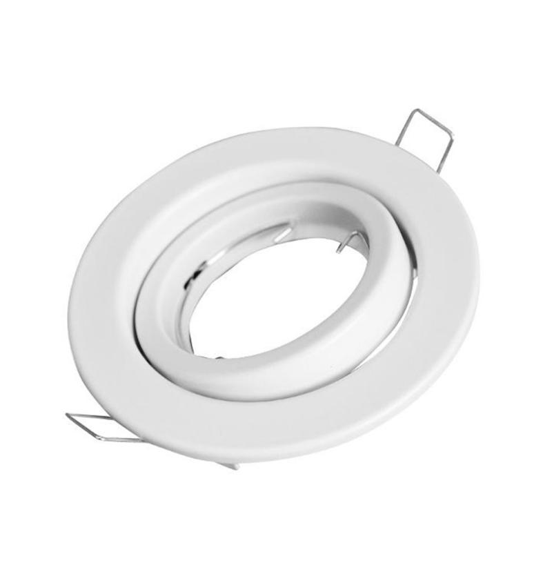 Aro GU10 IP20 Orintável Branco