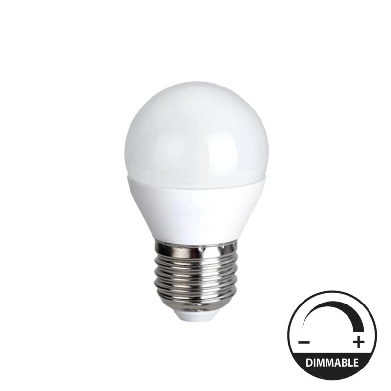LED Lâmpada E27 5W G45 Dimável