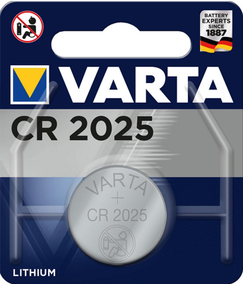 VARTA Electronics CR2025 3V Lithium