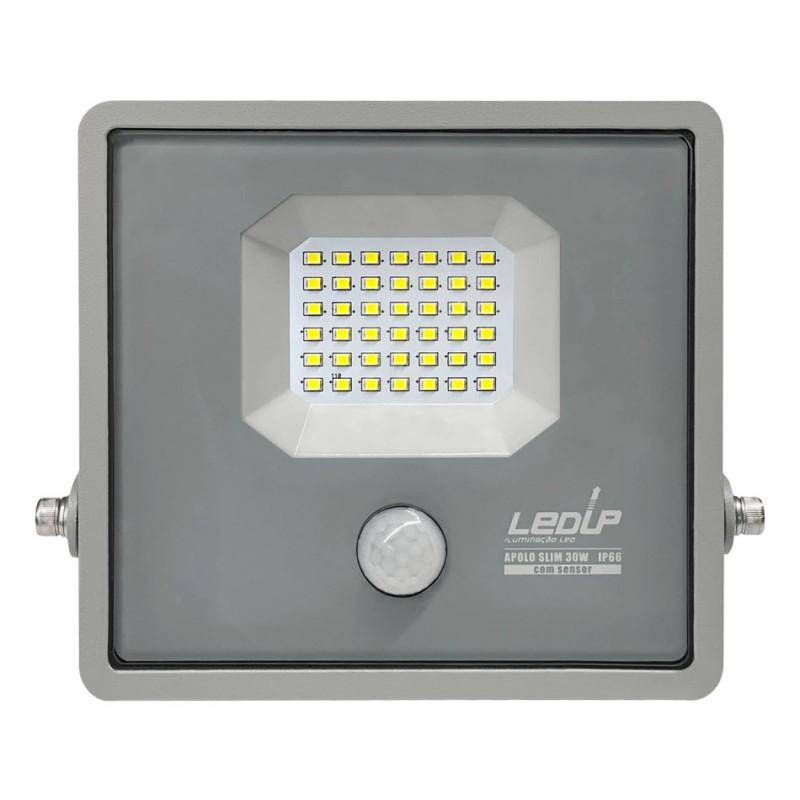 LED projetor c/sensor 30W 6000K IP66