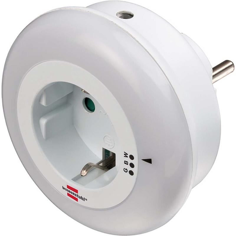 LED Nightlight com Sensor Crepuscular 0.80W 3 Cores