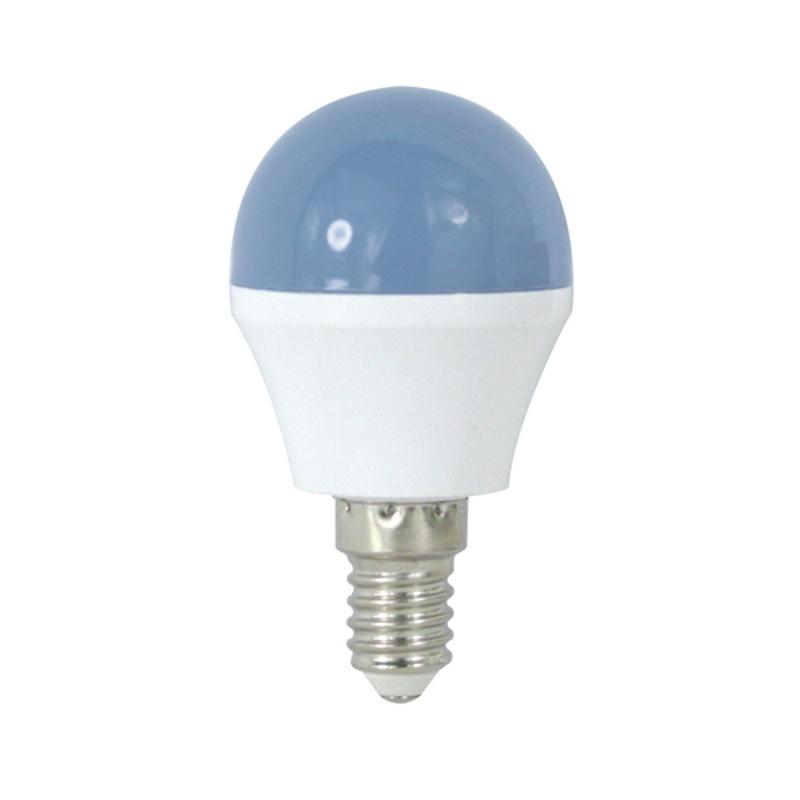 LED Lâmpada E14 G45 4W Azul