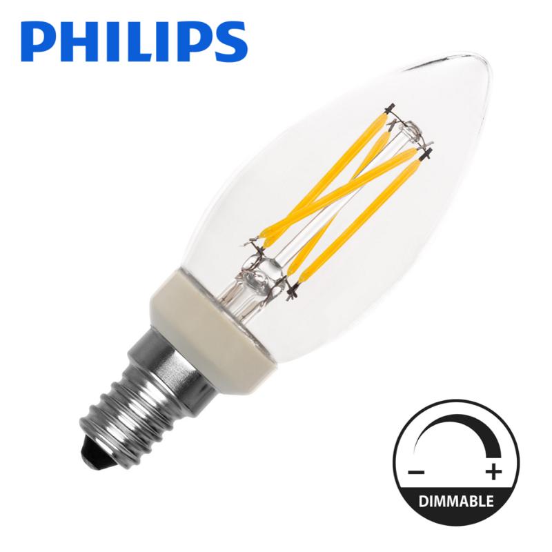 LED lâmpada E14 3,5W 2700K Regulável
