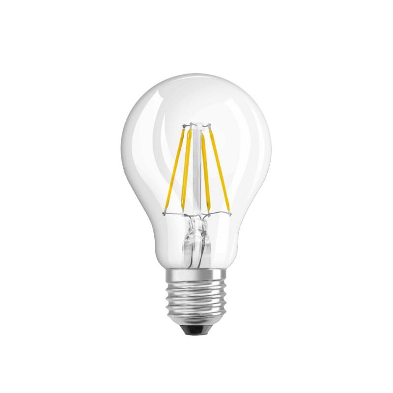 LED Lâmpada Filamentos E27 A60 6W 3000K