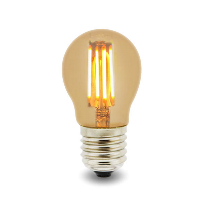 LED Lâmpada Filamentos E27 G45 4W 2300K
