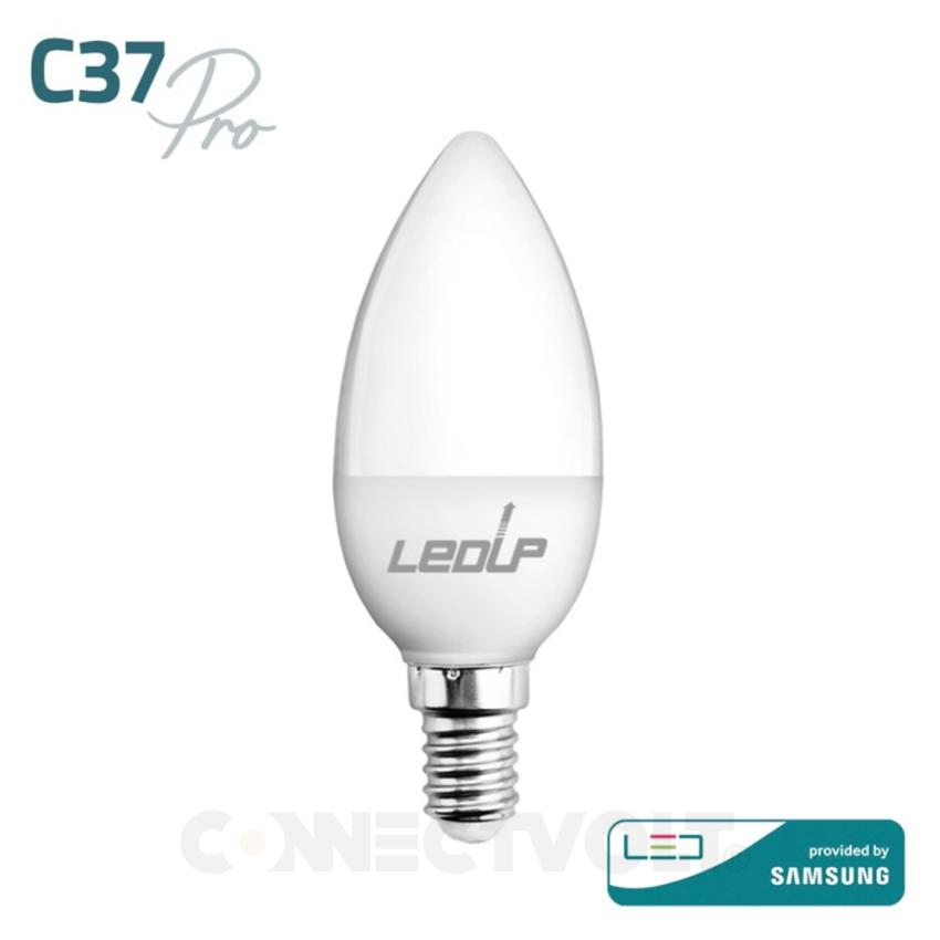 LED lâmpada E14 C37 PRO 5W