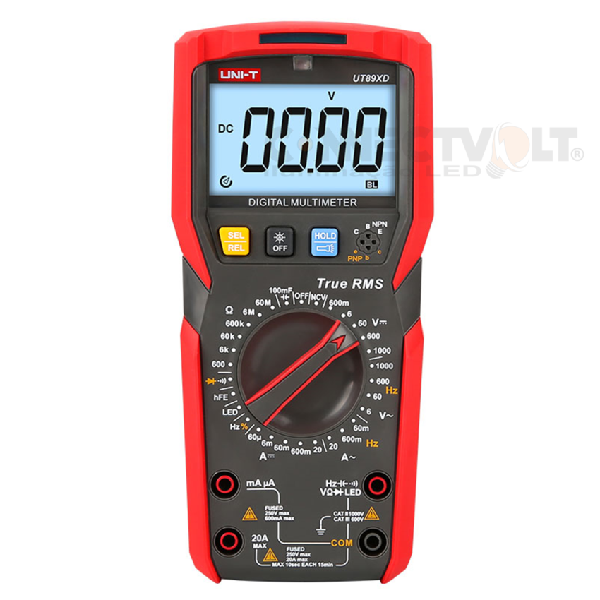 UNI-T UT89XD Multímetro Digital Profissional