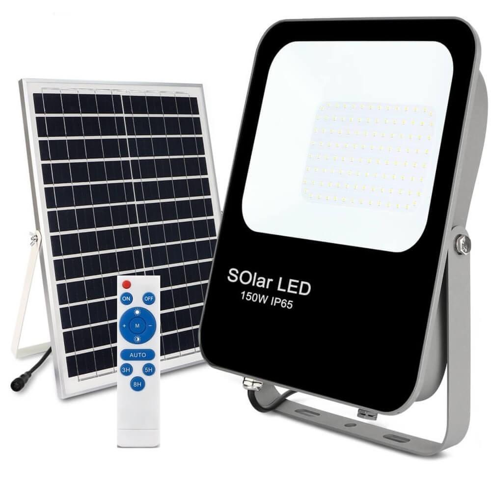 LED Projetor  Exterior SOLAR 150W IP65 6000K