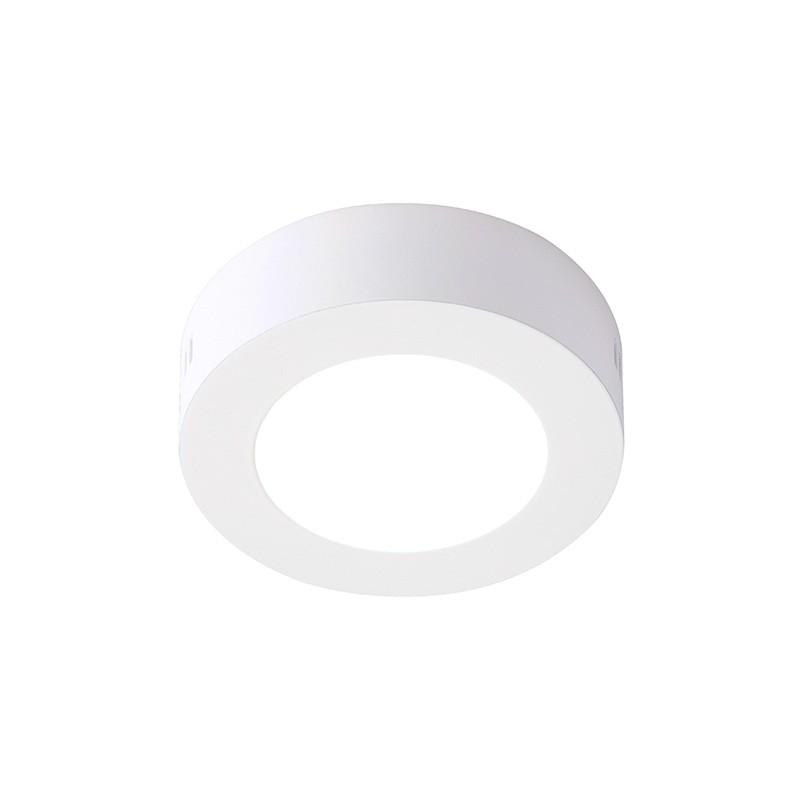 LED Downlight Redondo Superfície 6W Branco