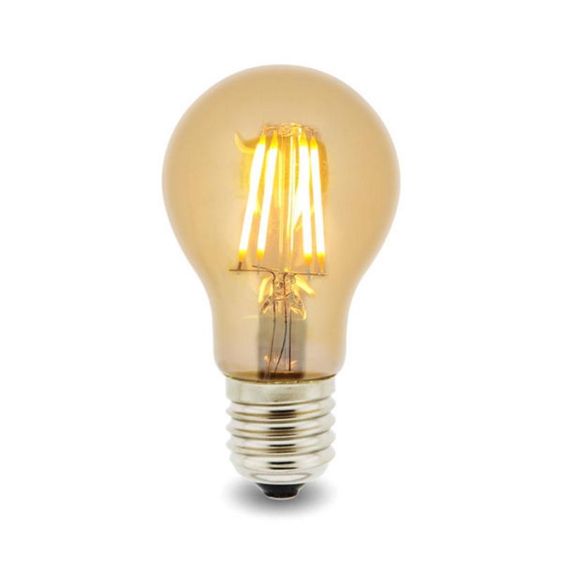LED Lâmpada Filamentos E27 A60 4W 2300K
