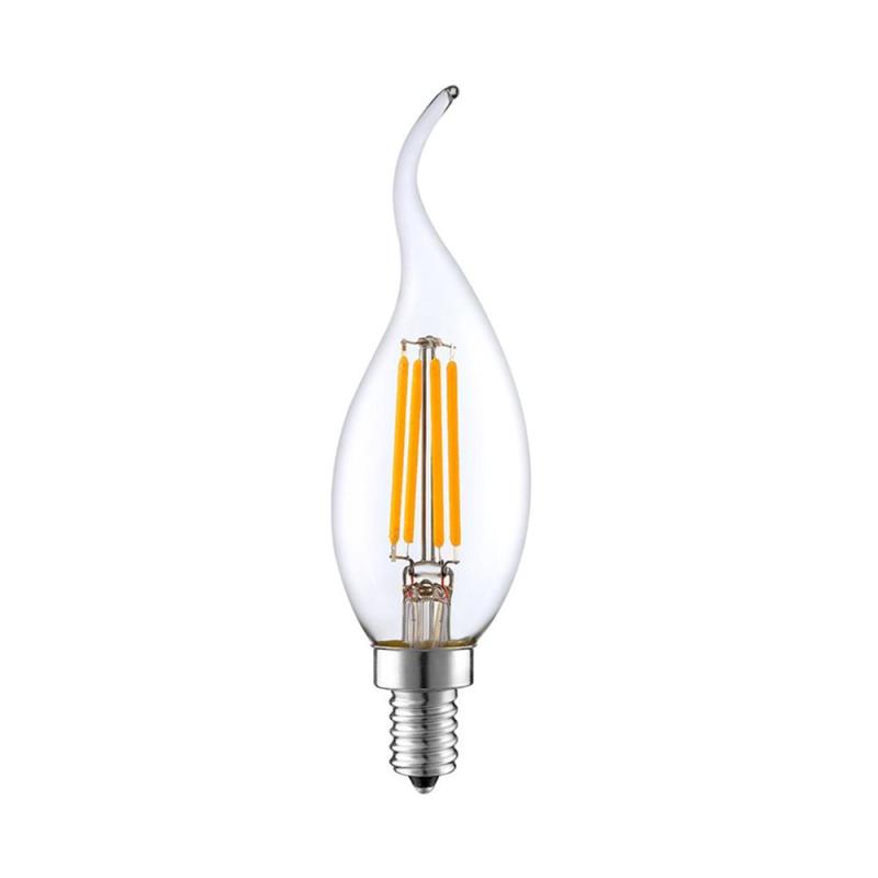 Lâmpada LED Chama Filamentos E14 C35 4W 3000K